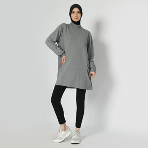 Raveena Top - Dusty Grey