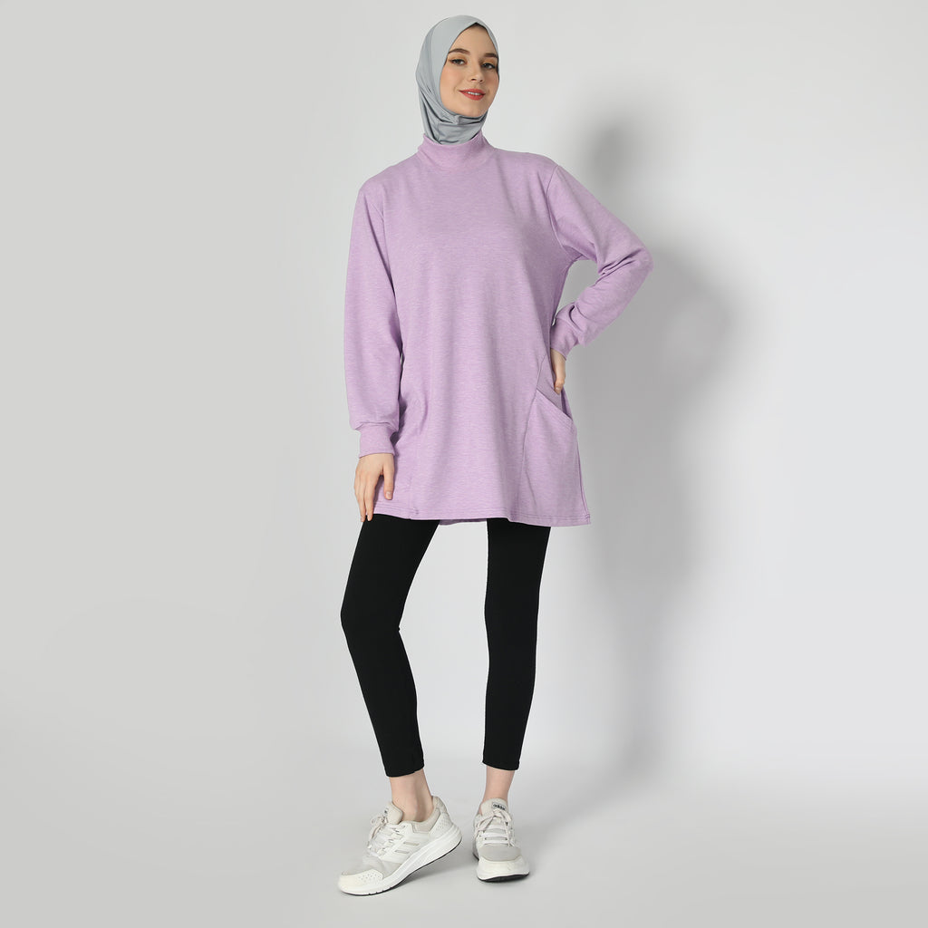 Raveena Top - Lavender Smoke
