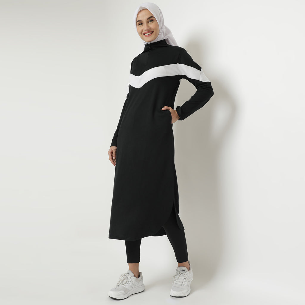 Sabira Tunic - Black