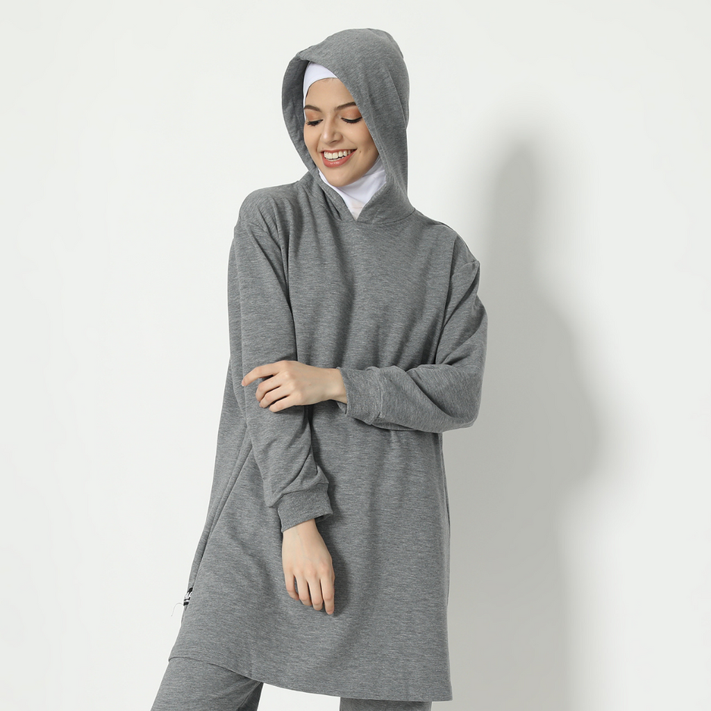 Nabeela Top - Dusty Grey