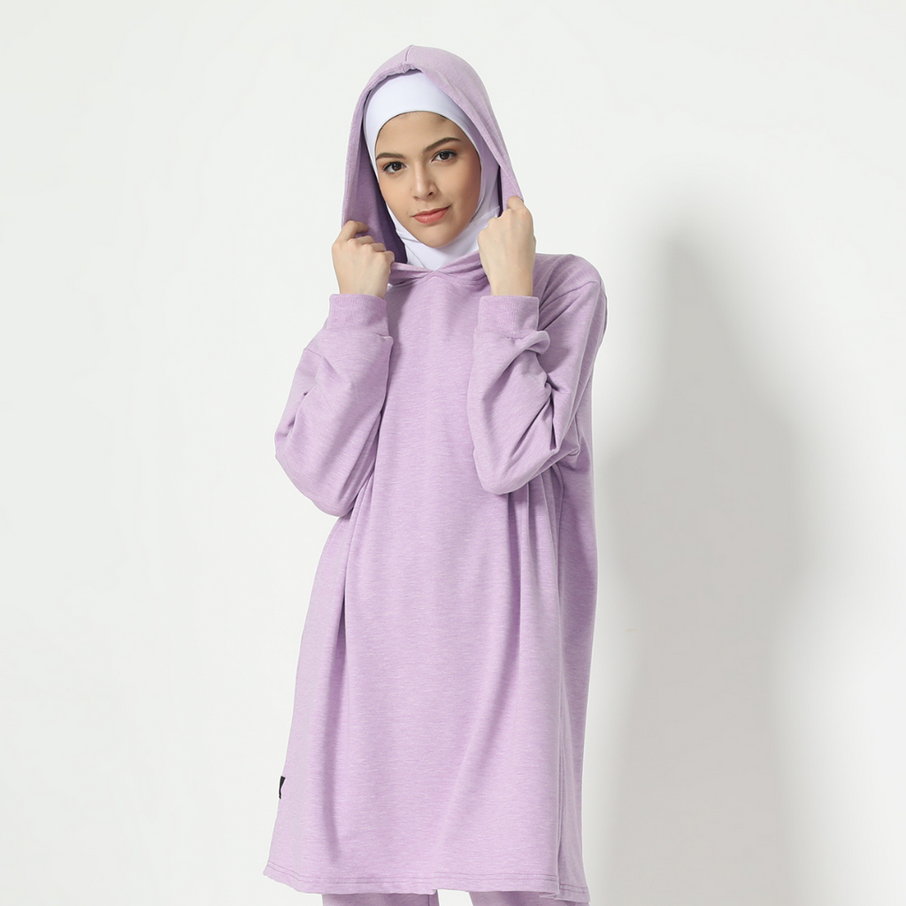 Nabeela Top - Lavender Smoke