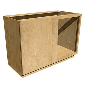 Left Base Cabinet- 17in depth
