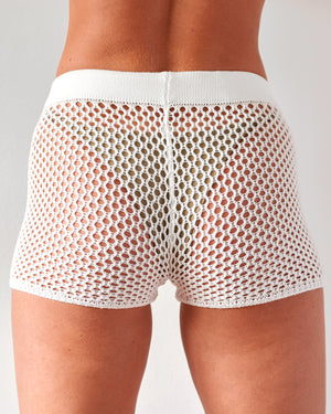 HENDRIX SHORT WHITE