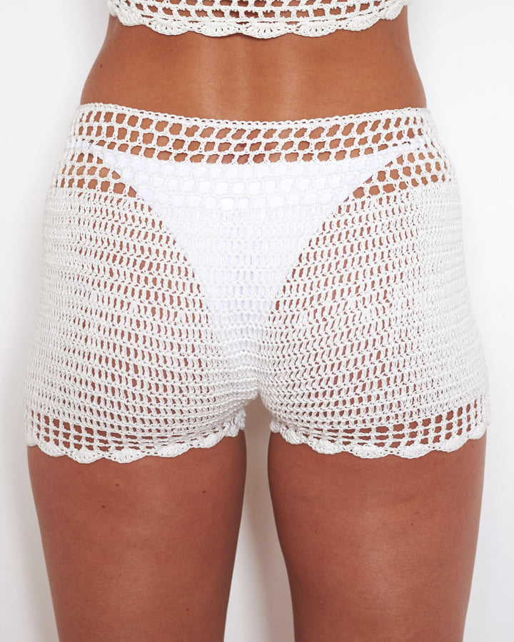 HONEY SHORTS WHITE