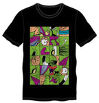 Aaahh!!! Real Monsters Ickis Puzzle Style Tee - Sloppy Inks