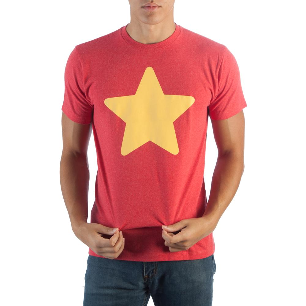 Steven Universe Star Adult T-Shirt - Sloppy Inks