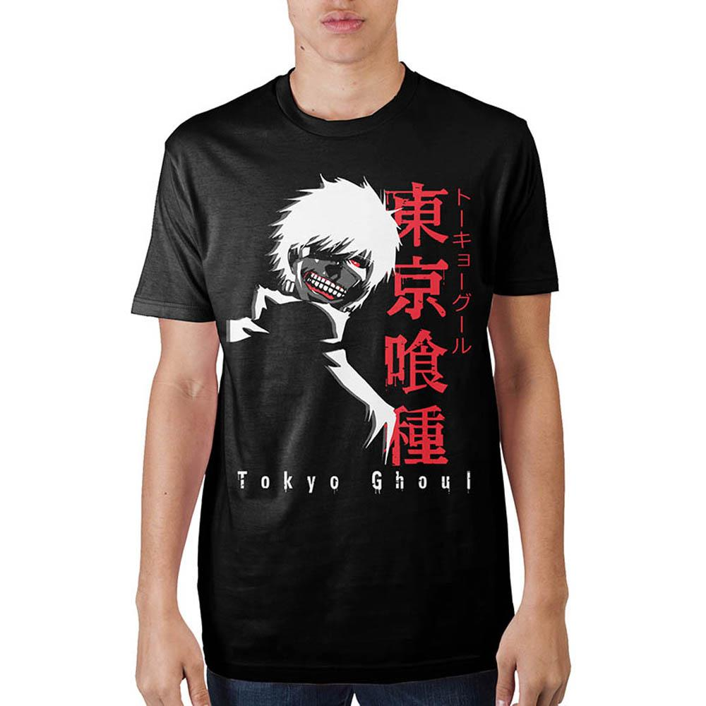 Tokyo Ghoul Character Black T-Shirt - Sloppy Inks