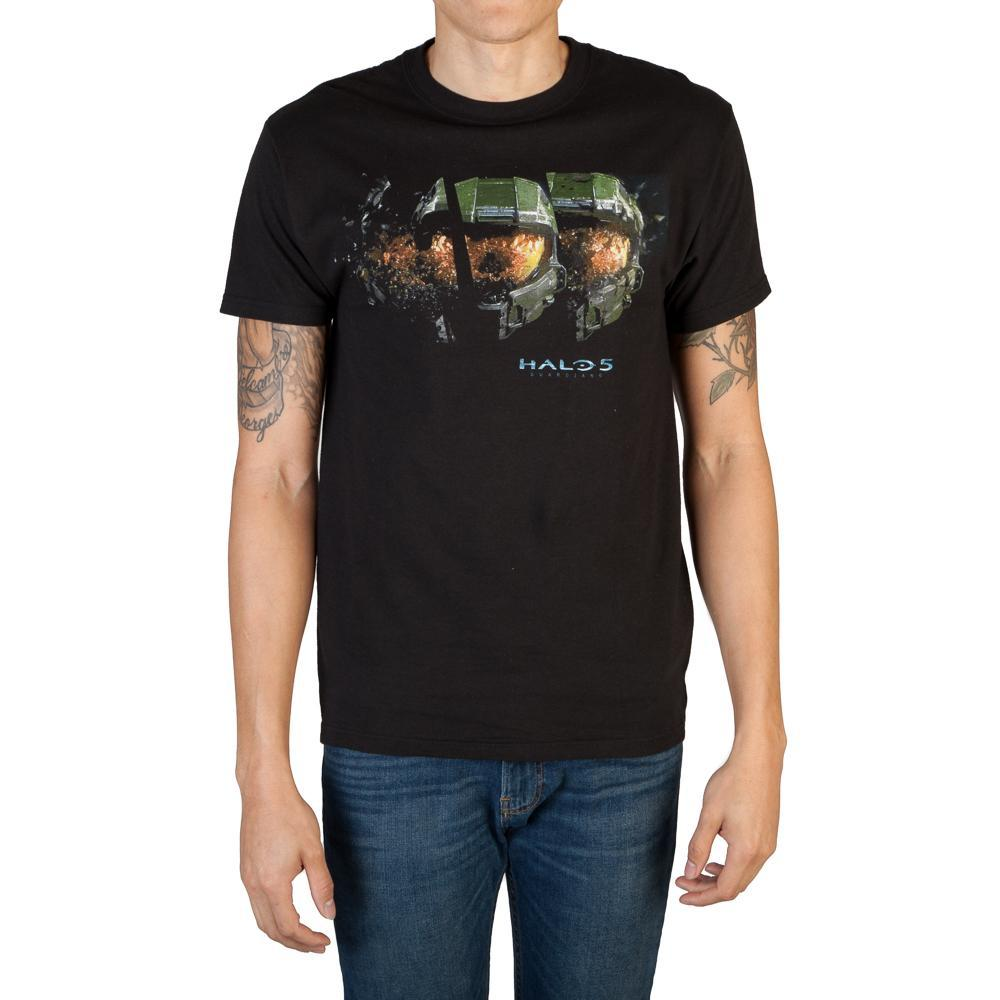 Halo 5 Masterchief Helmet T-Shirt - Sloppy Inks