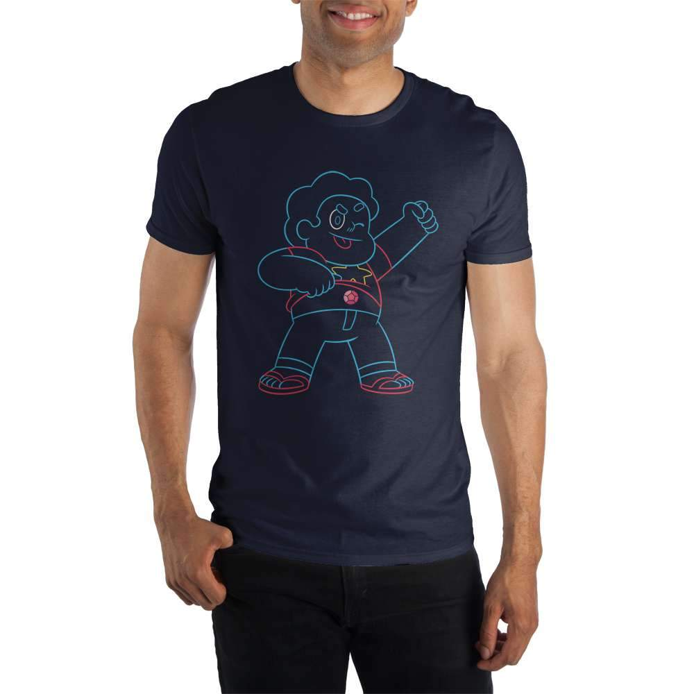 Cartoon Network Steven Universe Outlines Power T-Shirt - Sloppy Inks