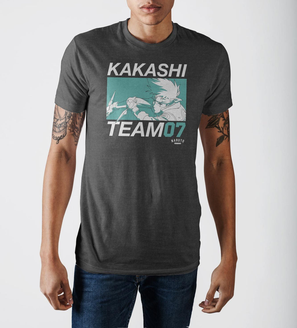 Naruto Kakashi Hatake Short Sleeve T-Shirt - Sloppy Inks