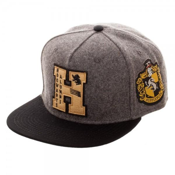 Harry Potter Hogwarts Alumni Hufflepuff Snapback - Sloppy Inks