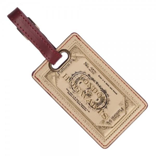 Harry Potter Ticket Luggage Tag - Sloppy Inks