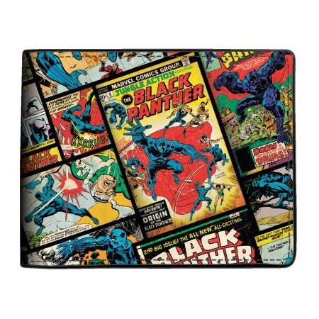 Marvel Black Panther Comic Bi-Fold Wallet - Sloppy Inks