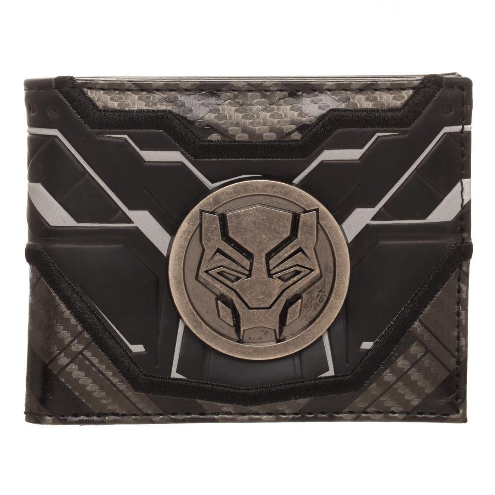 Black Panther Movie Bifold Wallet - Sloppy Inks