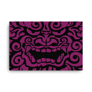 Canvas Shisa purple