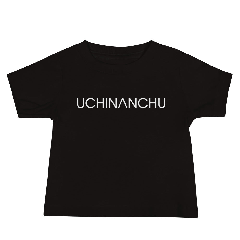 Baby Jersey Short Sleeve Tee Uchinanchu with shisa