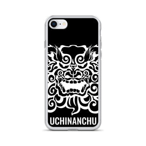 iPhone Case SHISA UCHINANCHU BLACK CASE