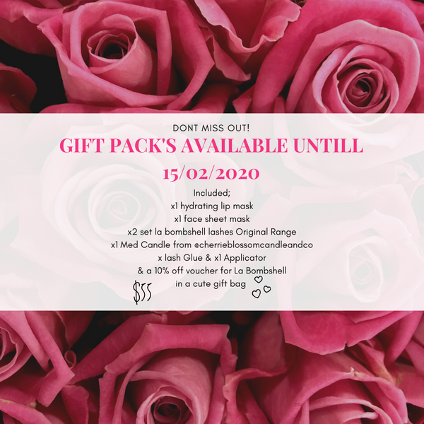 Valentines Day Gift Pack - La Bombshell au
