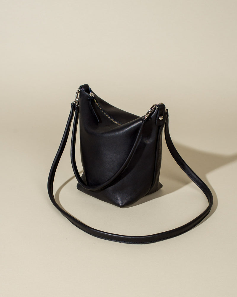 The Jacqui Crossbody, Black