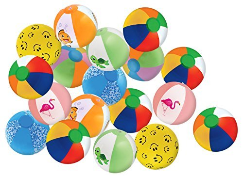 "Assortment 8"" (25 pack) Beach Ball"