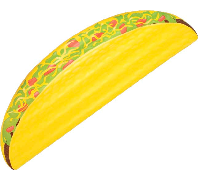 Taco Grande Pool Float