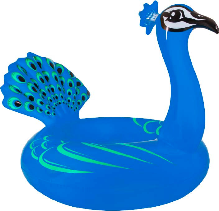 Majestic Peacock Pool Float