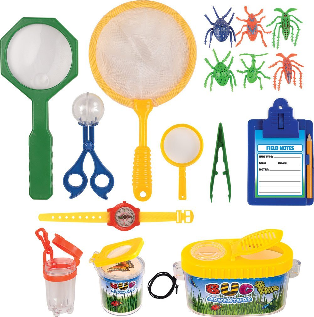 Insect Adventure Set-18 Piece