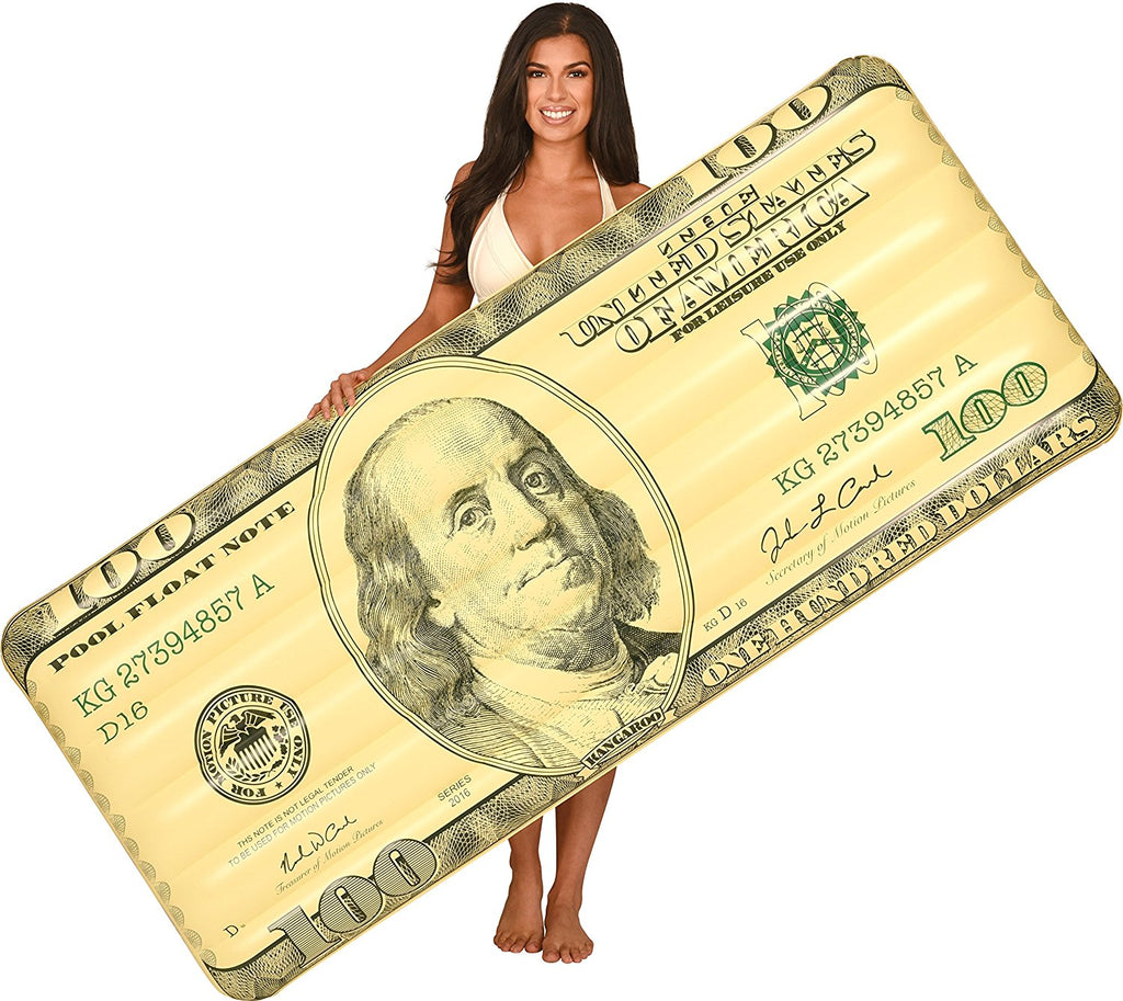 Hundred Dollar Bill Pool Float