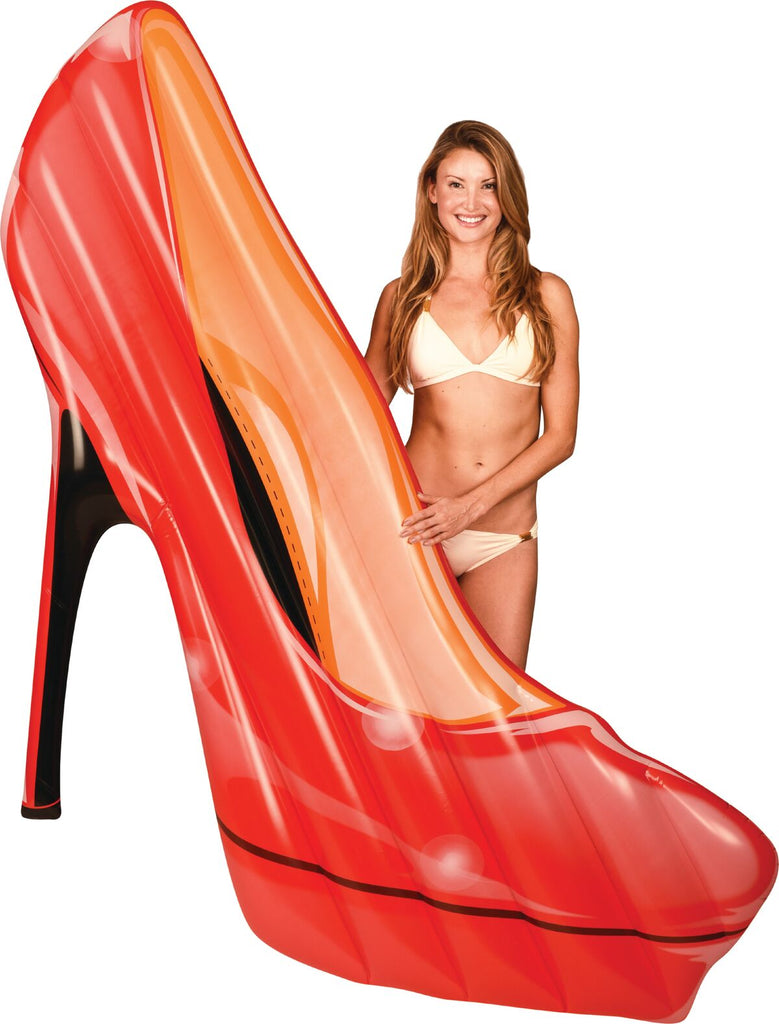 Red High Heel Gigantic Pool Float