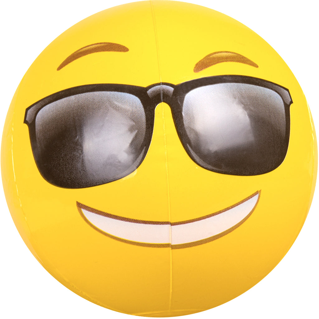 "18"" Emoji Sunglasses Beach Ball"