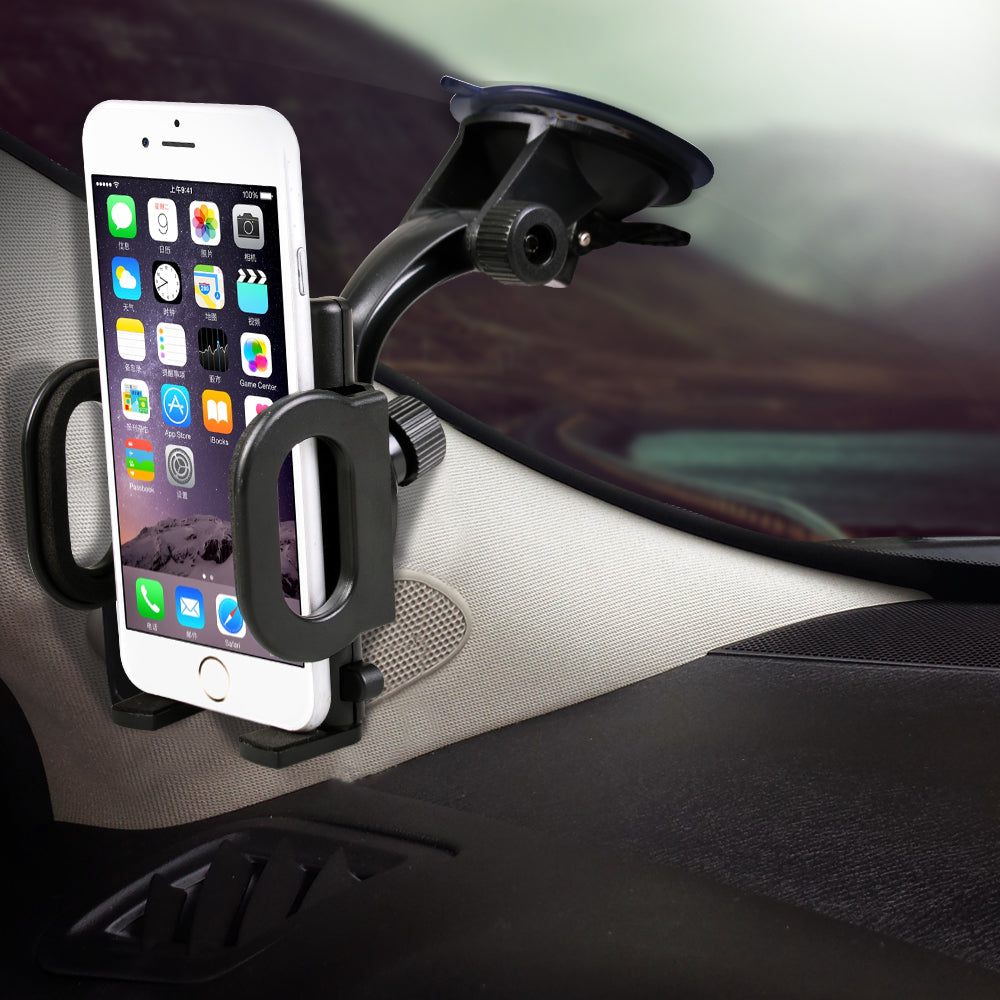 The Original Easy-Tech 2-in-1 Car Mount - for Windshield or Air Vent