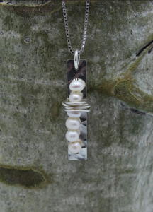 Stacked Pearls Necklace