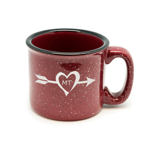 Arrow State Heart Campfire Mug