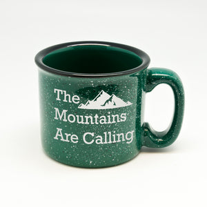 Mountains Are Calling 2 Campfire Mug