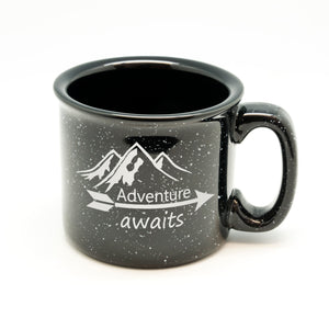 Adventure Awaits Campfire Mug