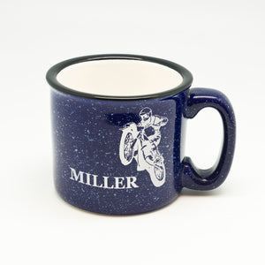 Customized Name Motorcycle Campfire Mug