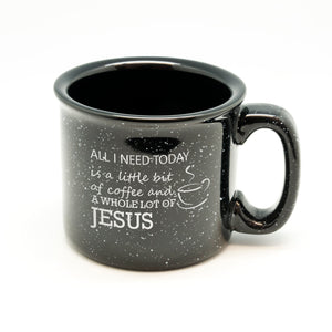 Coffee And Jesus Campfire Mug