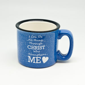 Christ Strength Campfire Mug
