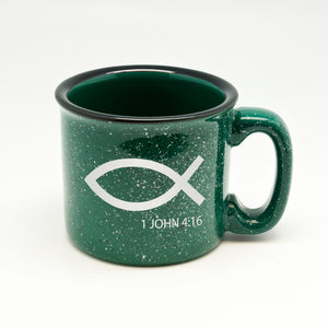 Jesus Son of God Campfire Mug