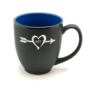 Arrow State Heart Hilo Bistro Mug
