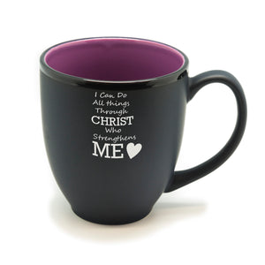 Christ Strength Hilo Bistro Mug