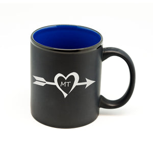 Arrow State Heart Hilo Straight Mug