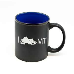 I Snowmobile State Hilo Straight Mug