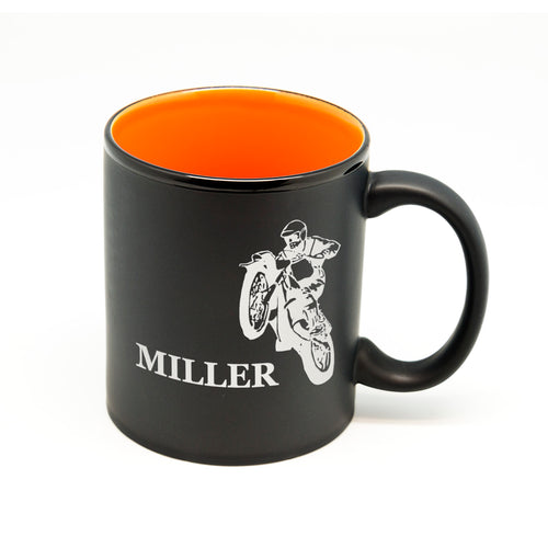 Customized Name Motorcycle Hilo Straight Mug