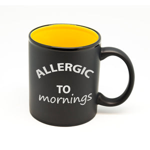 Allergic to Mornings Hilo Straight Mug