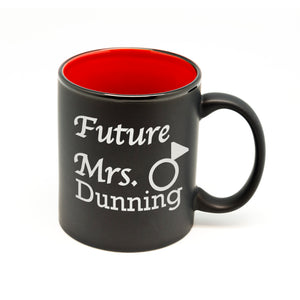 Future Mrs Name Hilo Straight Mug