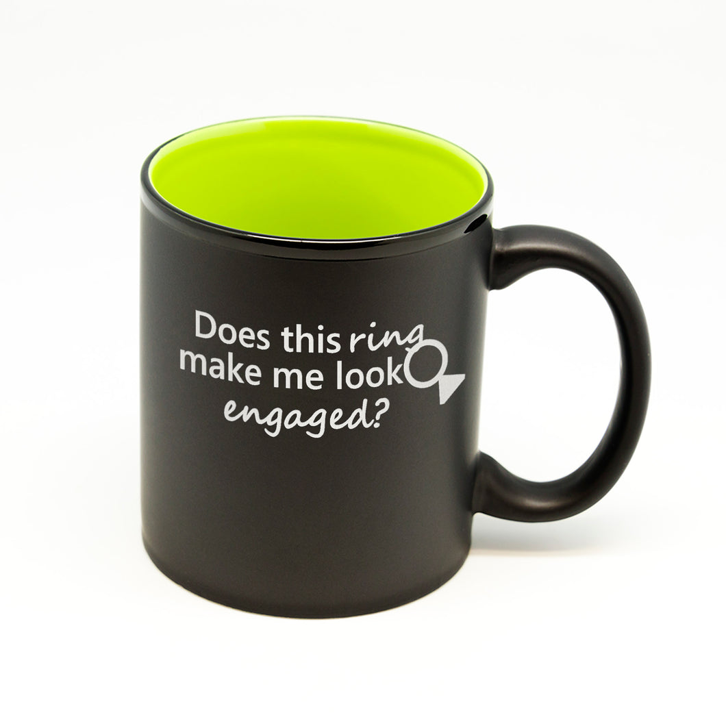 Look Engaged Hilo Straight Mug 2