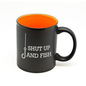 Shut Up and Fish Hilo Straight Mug