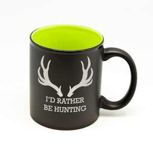 I'd Rather Be Hunting Hilo Straight Mug