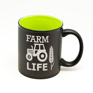 Farm Life Hilo Straight Mug